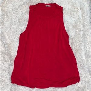 Large Ardene Red Tank Top
